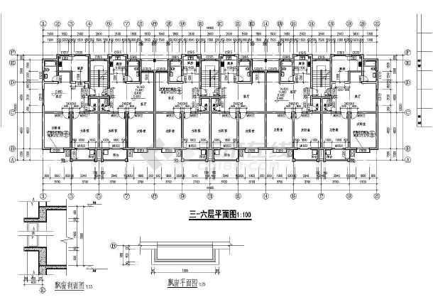 某单元式多层住宅设计施工图 共11张