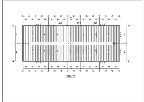 相关专题:36米跨度钢结构厂房 小型钢结构厂房设计图 轻型钢结构