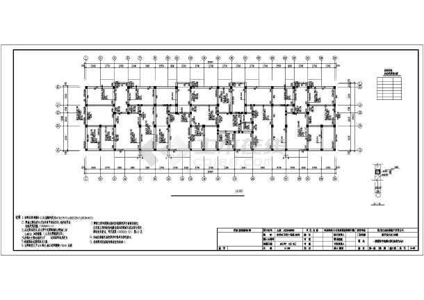 基础结构平面布置图,基础详图,地下室框架柱平法施工图,地下室抗震墙