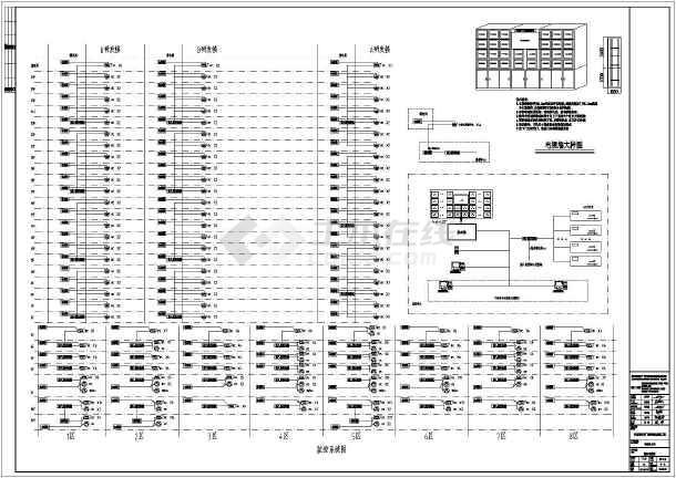 某商业建筑电气设计系统图-图3