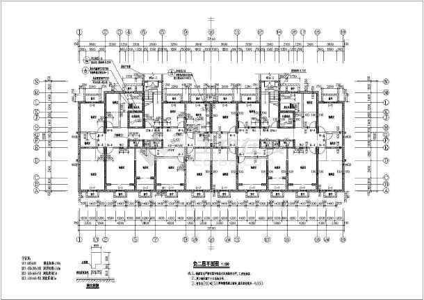 某地18層純剪力墻住宅建筑平面設計圖紙_cad圖紙下載