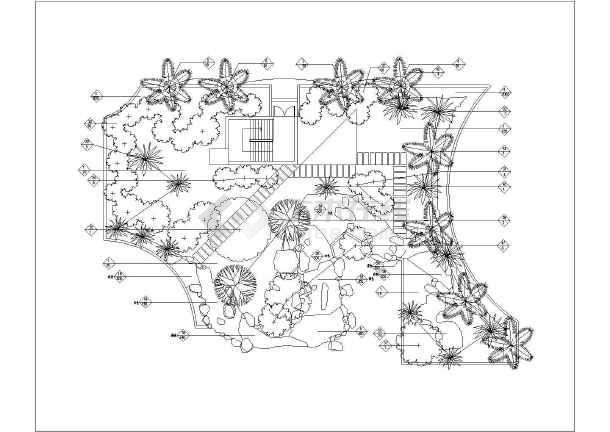 植物配置平面图