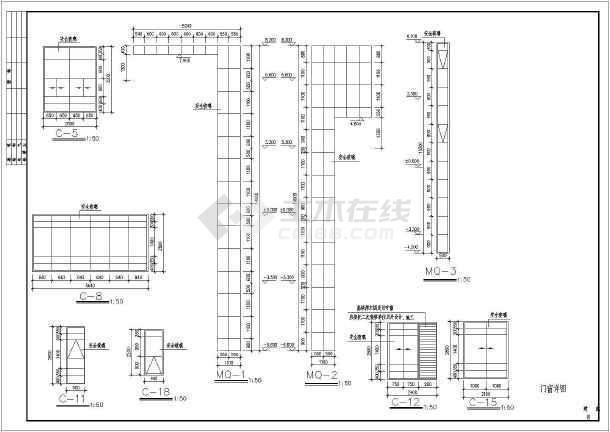 【温州】某四层海景别墅建筑施工图