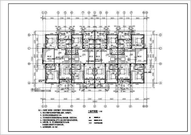 联排别墅_联排别墅cad图纸下载-图纸v图纸毕业设计土木cad图纸图片