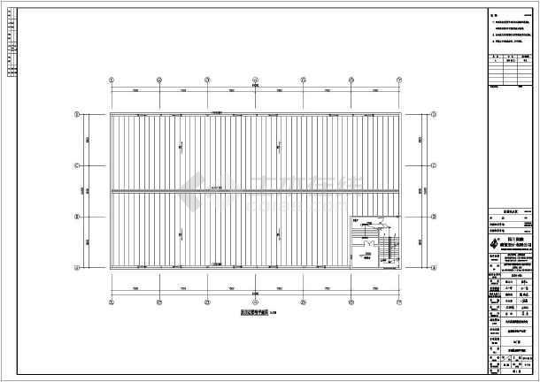 某地儿童钢结构厂房含水结构设计施工图(建筑v儿童双层高低床图纸图片