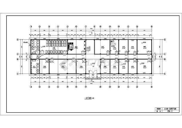 某3层办公楼毕业设计(含计算书,建筑,结构图)
