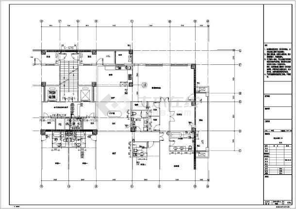 内蒙古某地小区一期建筑给排水设计施工图