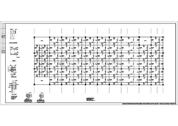 带网架的阶梯教室(钢骨架轻型板)结构施工图