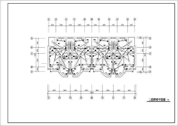 某学院教工住宅楼电路施工图(共11张)