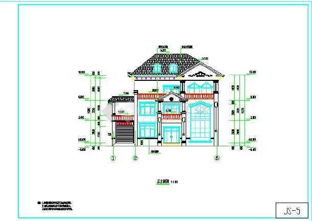 旋转楼梯建筑设计图