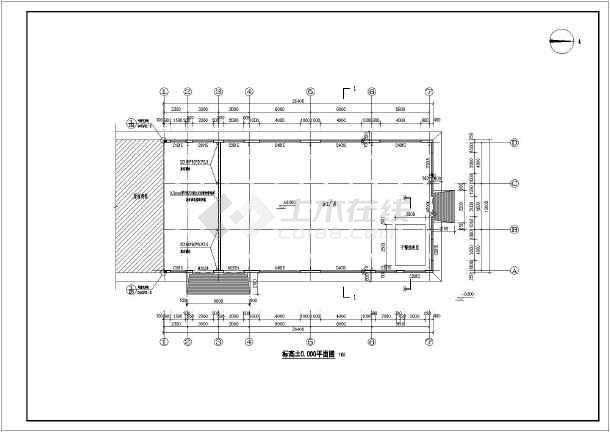 图纸 建筑结构图 厂房结构设计 轻钢结构厂房 某地门式刚架轻型房屋
