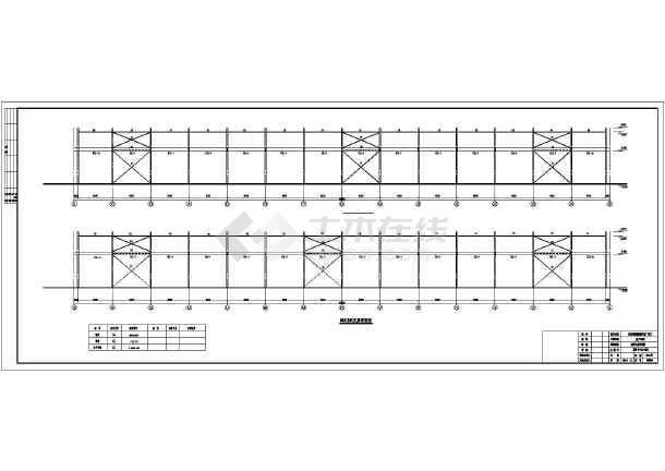 河北某选矿厂店面钢结构单层建筑、结构图_c图纸装修设计厂房如何小图片