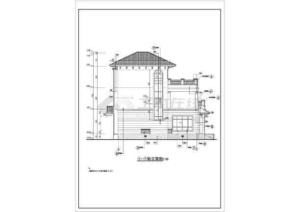 三层独栋别墅平面图