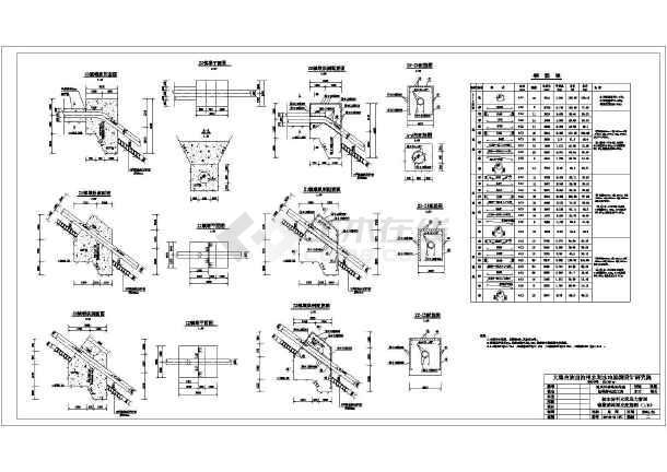 迪庆州香格里拉县松鹤桥电站工程钢管道技施设计图