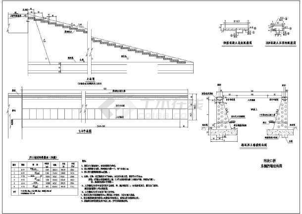 水利工程设计图 公路桥梁