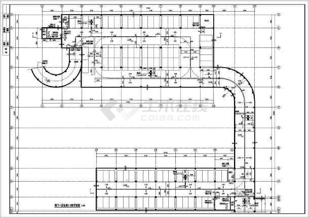 基础详图,墙,柱布置平面图,梁,柱帽布置平面图,楼梯详图,人防结构设计
