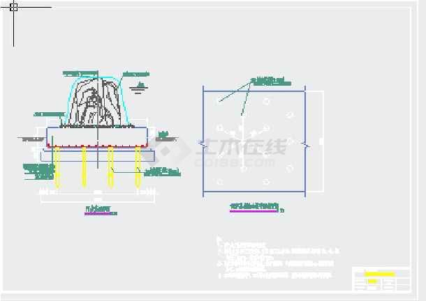 梁柱平面布置图,结构设计总说明,梁柱基础结构配筋及基础地基图处理等