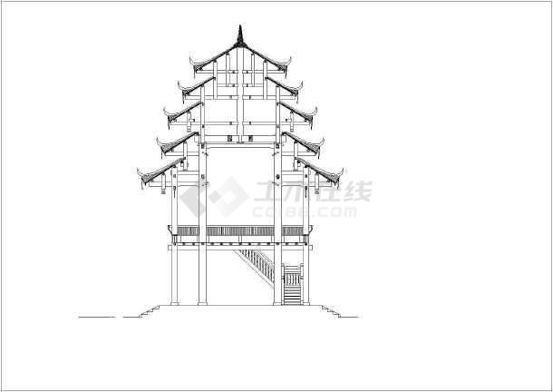 【广西】某二层重檐木结构大型古建筑