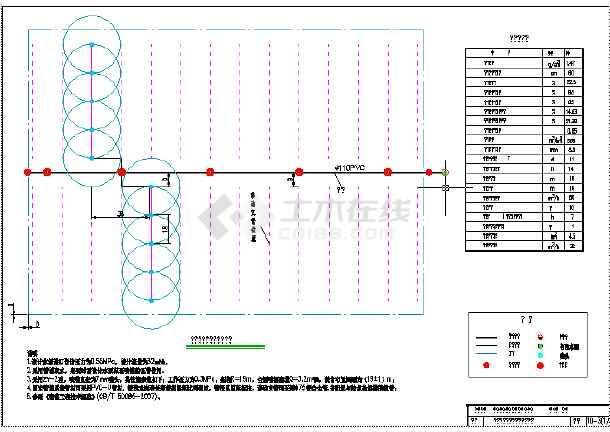 喷灌,内容包括:喷灌系统组成示意图,固定式喷灌系统典型设计图,半固定