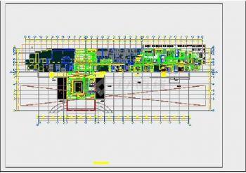 【电气精装饭店】【香港】大型图纸精装时候全cad组电气v电气块饭店就的图片
