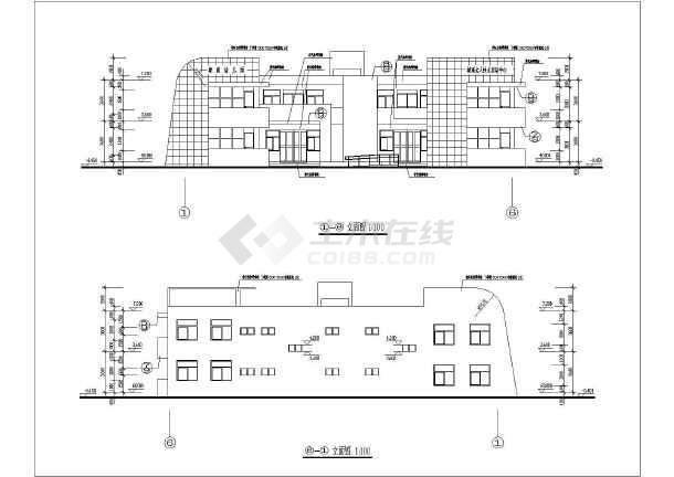 幼儿园建筑平面图(含设计说明书)图片1