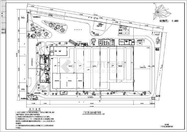 cad平面图设计说明_公园设计平面图cad