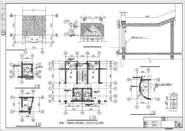 农村住房建筑图纸 建筑住房设计图 商住楼建筑施工图 住房建筑平面图图片