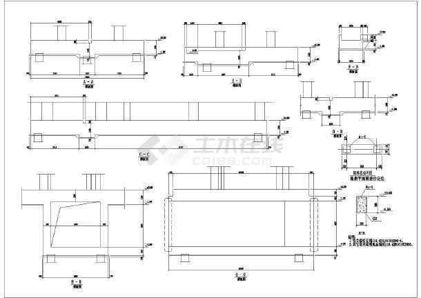 某环形加热炉结构带工艺部分施工图