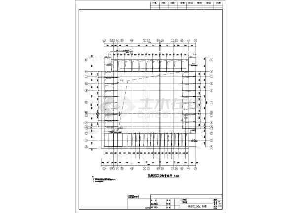 某地区五层某精神病医院建筑设计施工图展板景观设计ps图片