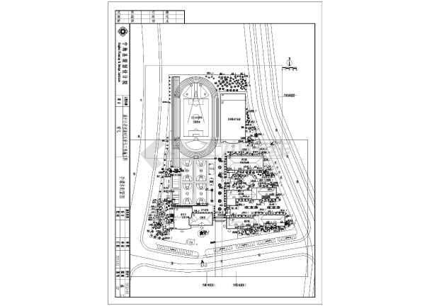 宁海城中小学星海图纸v图纸工程施工校区_cad7.2裁缝图纸来源橙装图片