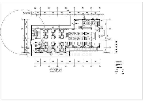 海南海鲜餐厅厨房给排水施工图