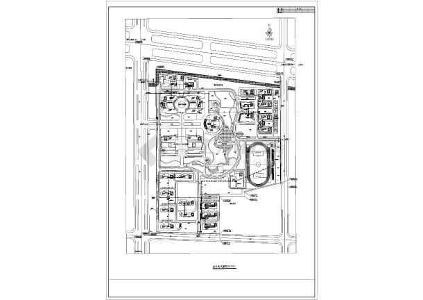 某学校室外强弱电室外管网(3张)-图1