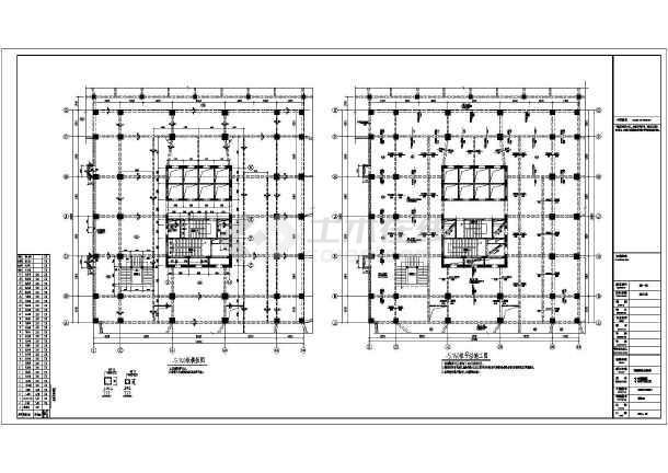 包括结构设计总说明,筏板基础基础平面布置图,墙柱施工图,梁平法施工