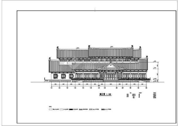 太湖古建筑园林组团式建筑施工图设计