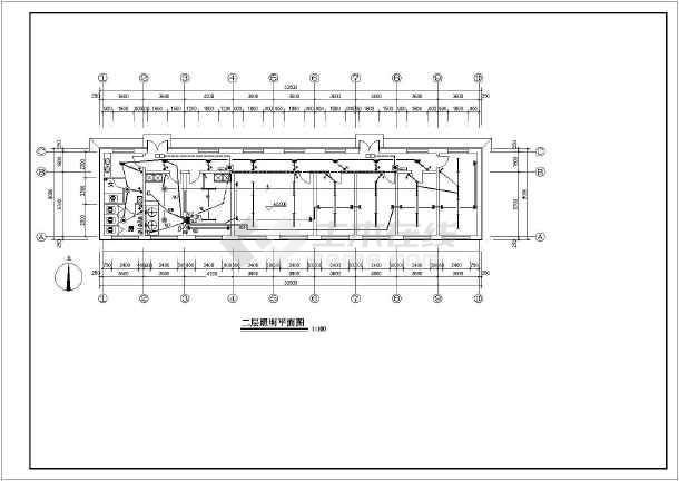 消防器材布置平面图