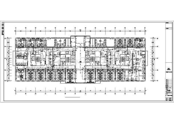 中国人民解放军251医院智化弱电竣工图纸_版07cad图纸怎么v医院图片