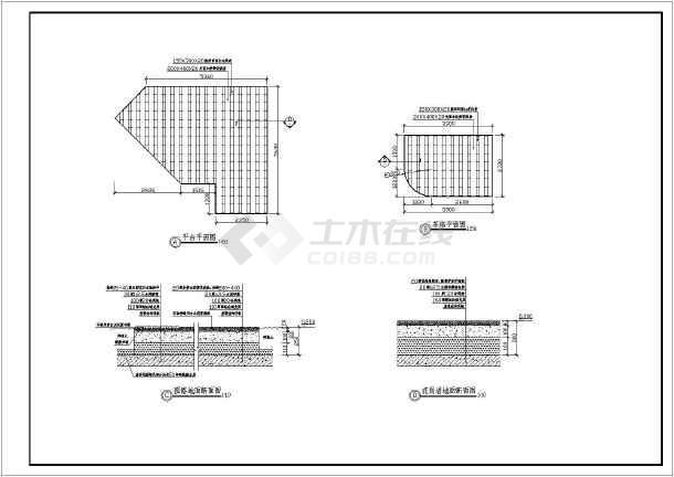 某屋顶花园v别墅工程施工说明别墅全套_cad图现代图纸图纸图片