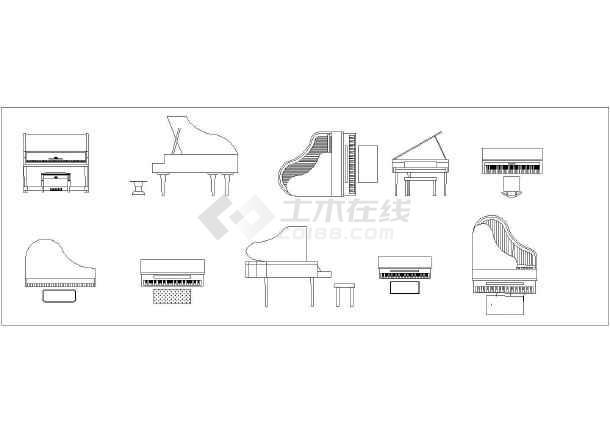 装修方案节点详图 室内设计cad素材 acd室内图库(家具桌椅板凳,室外