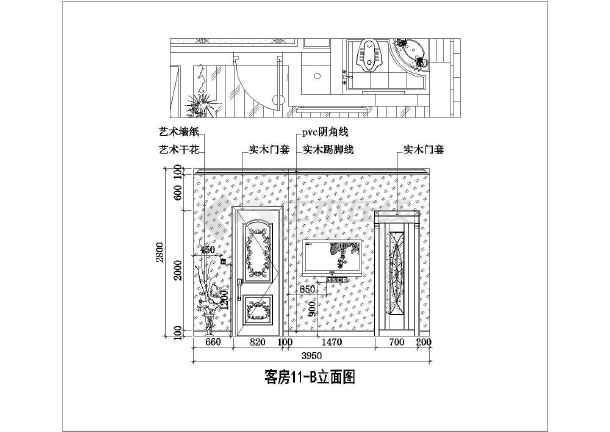 某地二层别墅欧式风格建筑装饰装修图