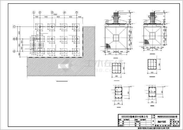 某三层钢结构工程结构图