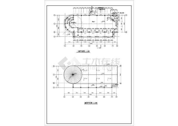 某西班牙风格售楼处建筑设计说明(含结构、电气)-图1