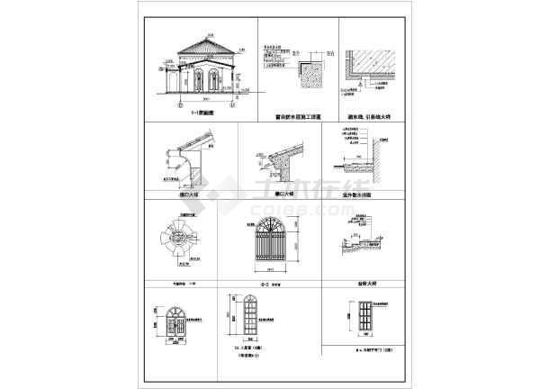 某西班牙风格售楼处建筑设计说明(含结构、电气)-图2