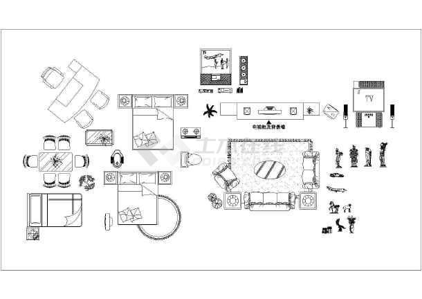 图纸 装修设计 装修方案节点详图 室内设计cad素材 某公司cad室内装修
