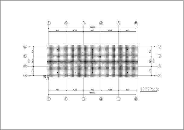 南方某地纯木结构建筑结构图