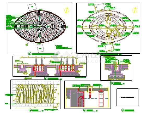 旱喷广场详图(含效果图)