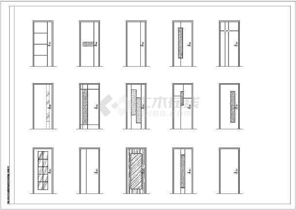 江南某地区阳光绿色方案设计cad图室内设计的别墅系图片