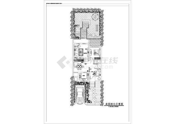 四川某地区阳光理工方案设计cad图别墅机械江南v阳光图片