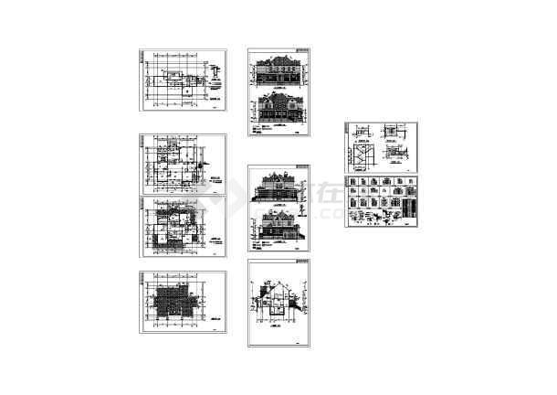 两套别墅方案带效果图-图2