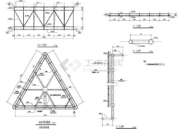 某地区结构三面体广告牌图纸设计施工高炮研究生建筑设计v结构排名图片