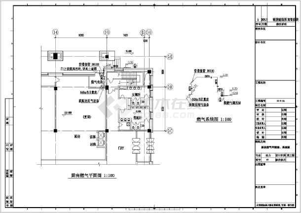 换热站工艺流程图,设备管道,定位,基础,换热站剖面图,详图,厨房燃气图片